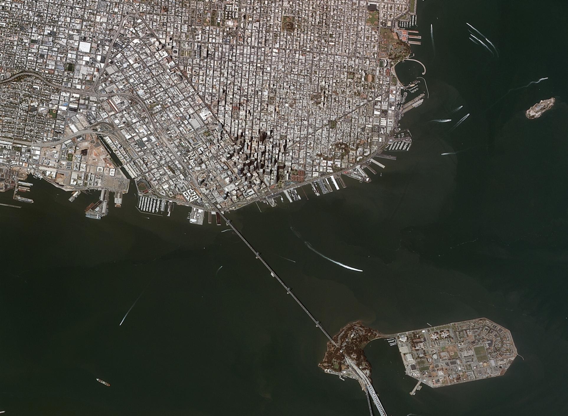 Göktürk-2 San Francisco 20 Haziran 2013