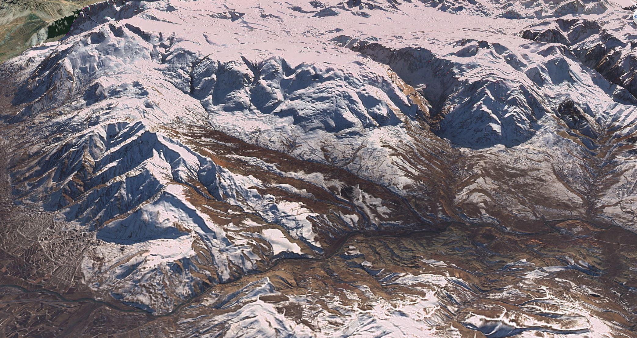 Munzur Dağları-Erzincan 10 Aralık 2015