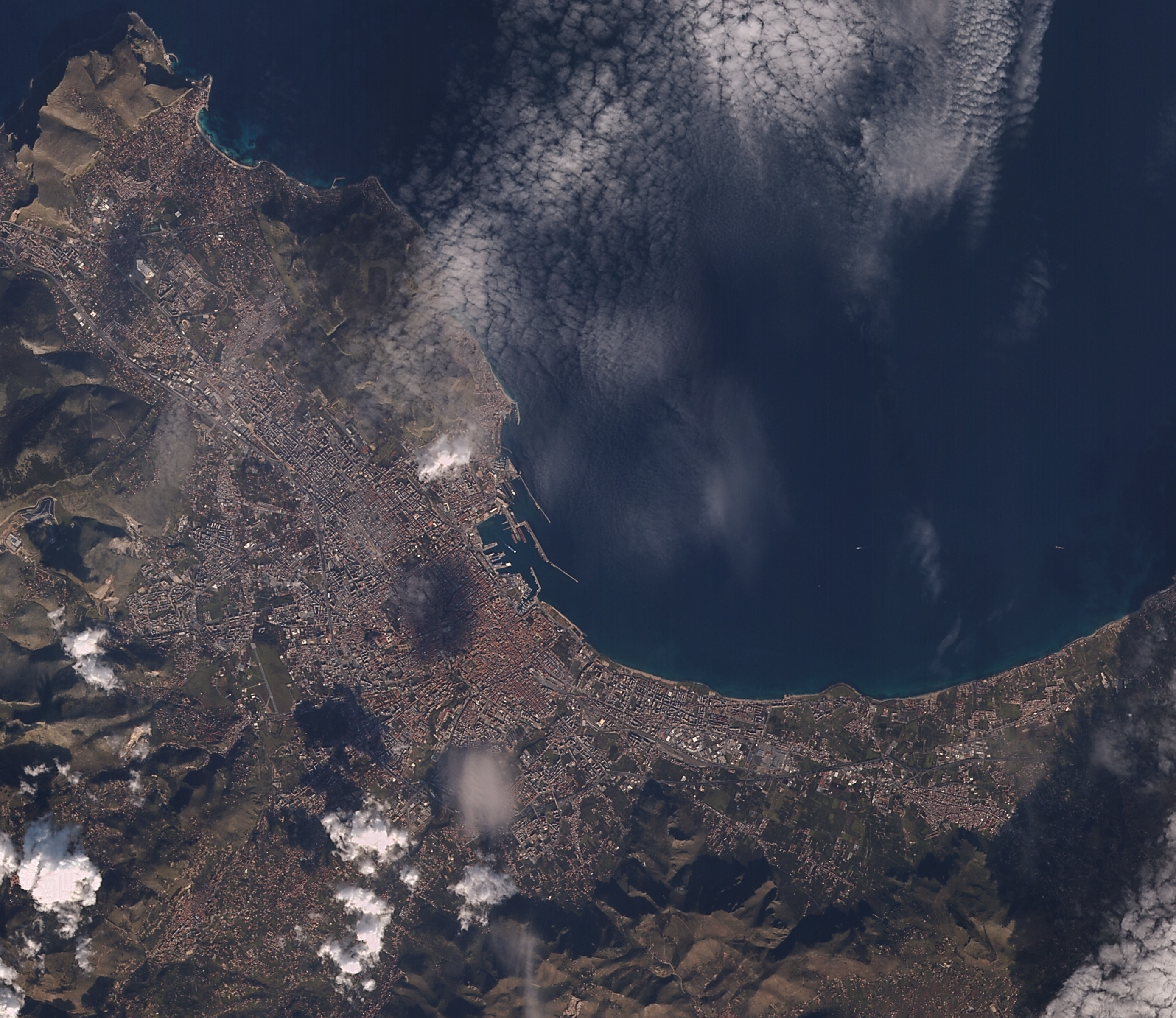 Palermo İtalya 23 Ocak 2016
