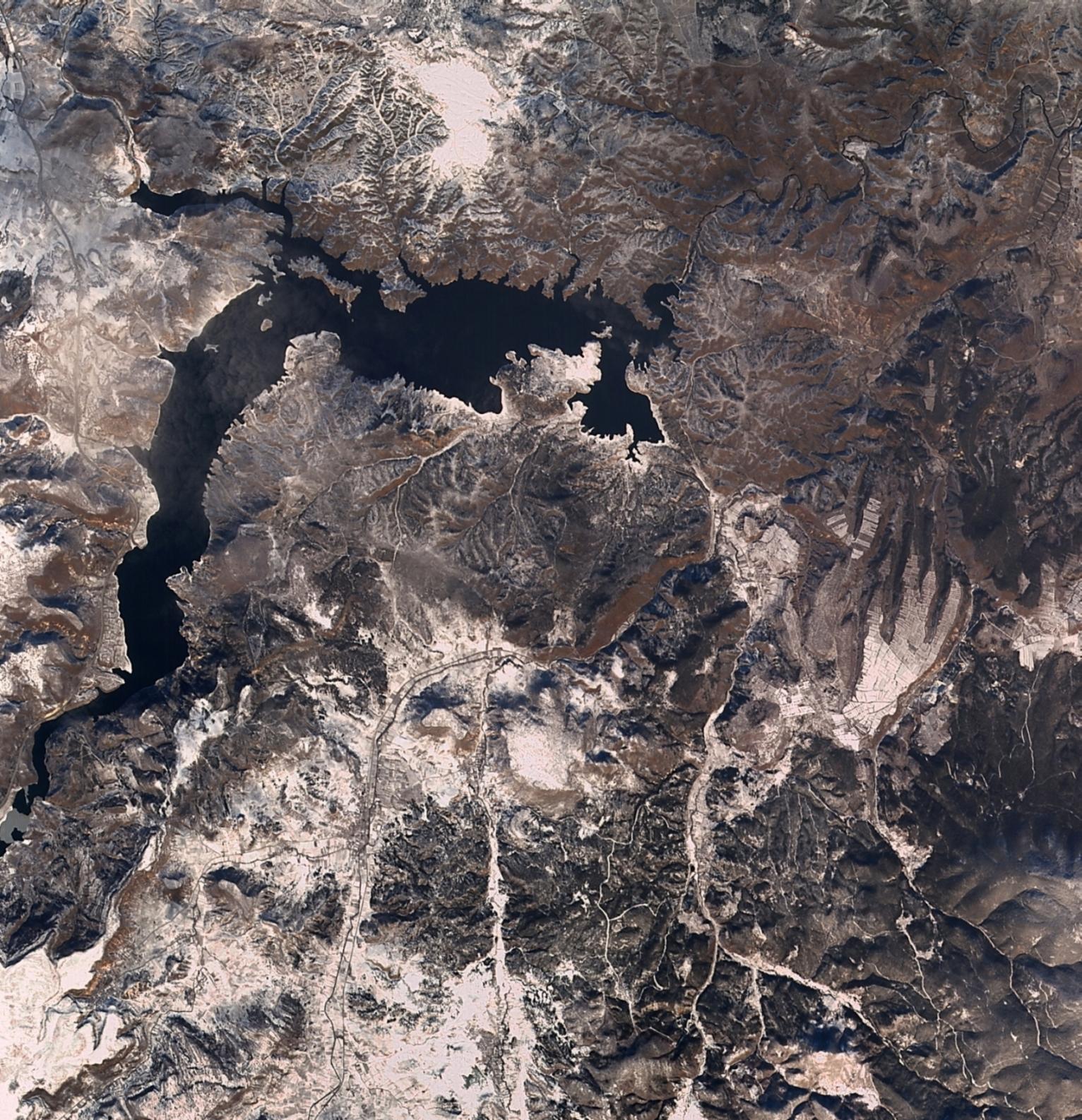 Porsuk Barajı 2 Ocak 2016