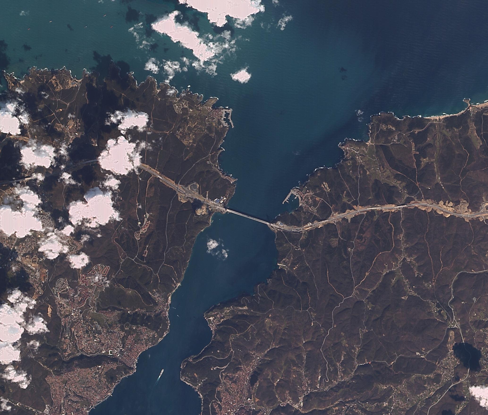 Yavuz Sultan Selim Köprüsü İstanbul 2012-2016