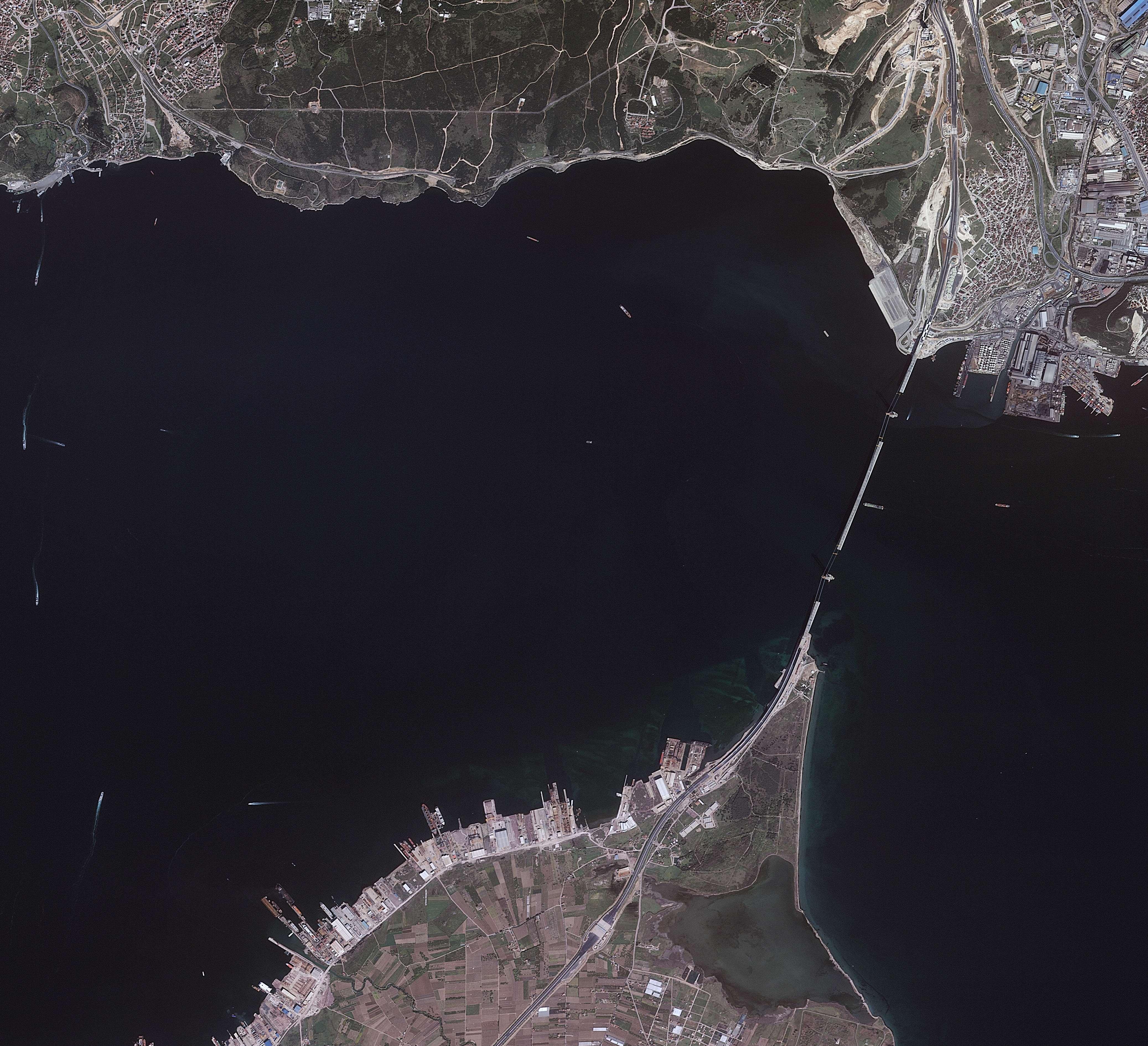 Göktürk-2 Körfez Geçiş Köprüsü 5 Nisan 2016