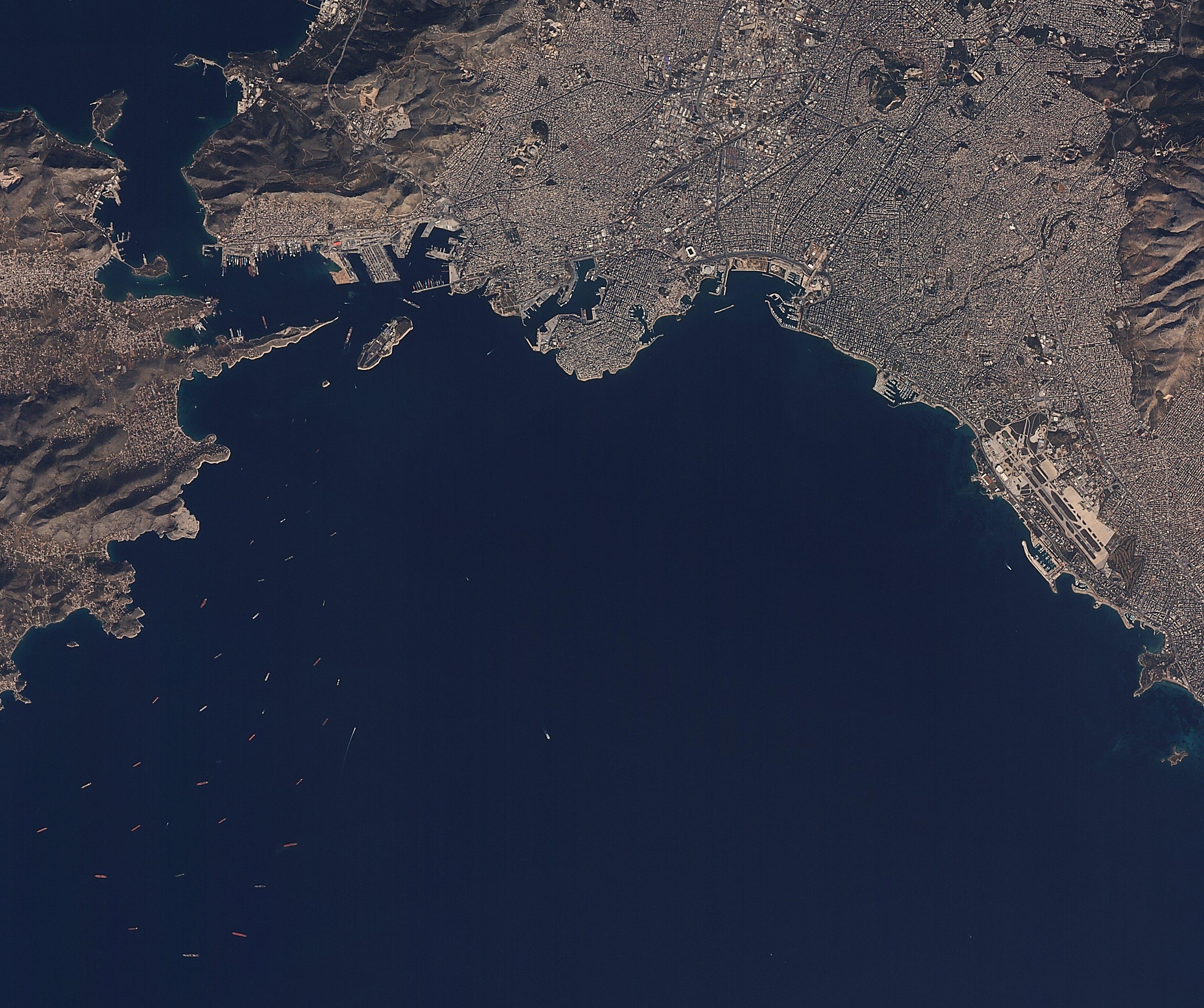 Attika Yunanistan 2 Şubat 2016