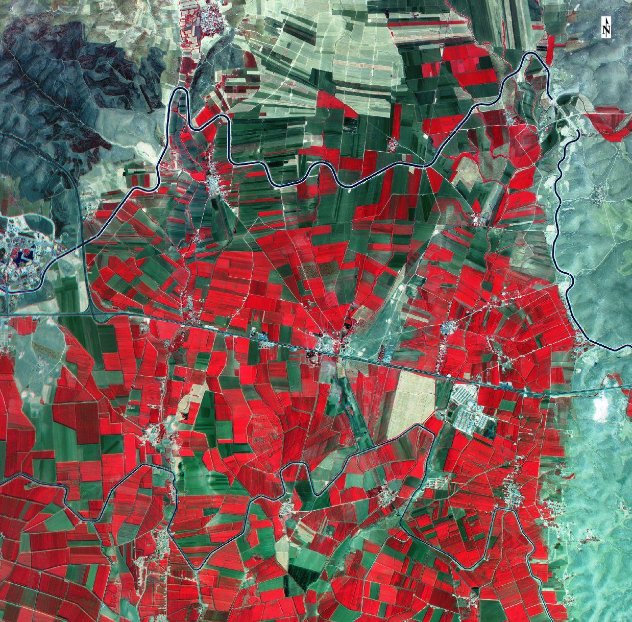 Göktürk-2 Harran 2016 Görüntüleri