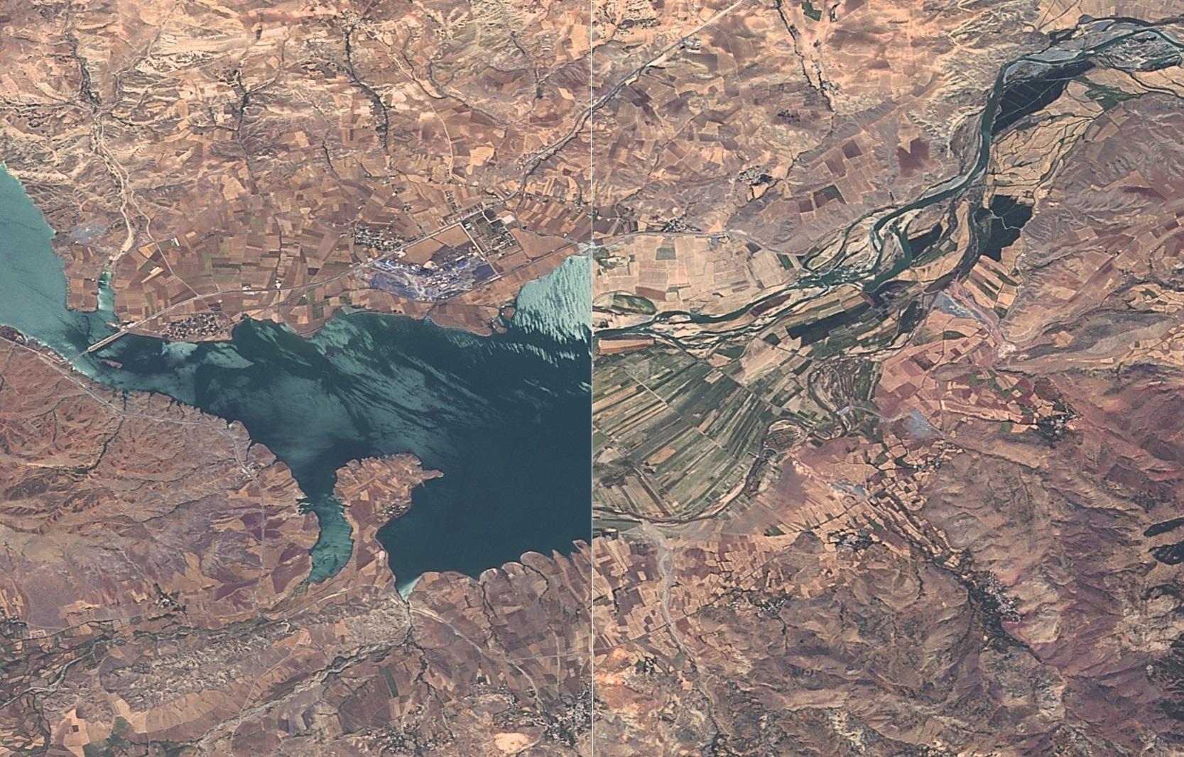 Keban Baraj Gölü 2012-2016 Görüntüleri
