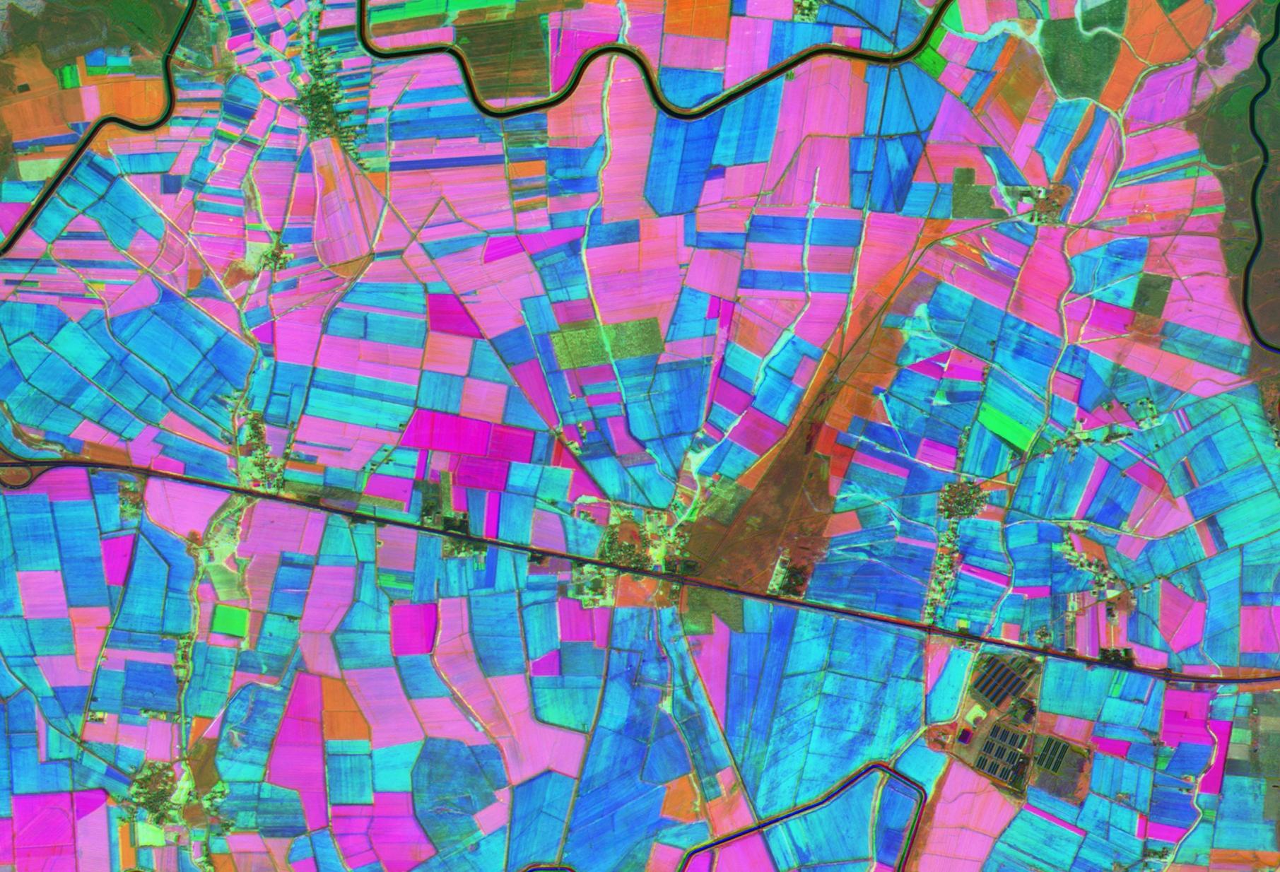 Tarımsal Alanların Göktürk-2 ile İzlenmesi