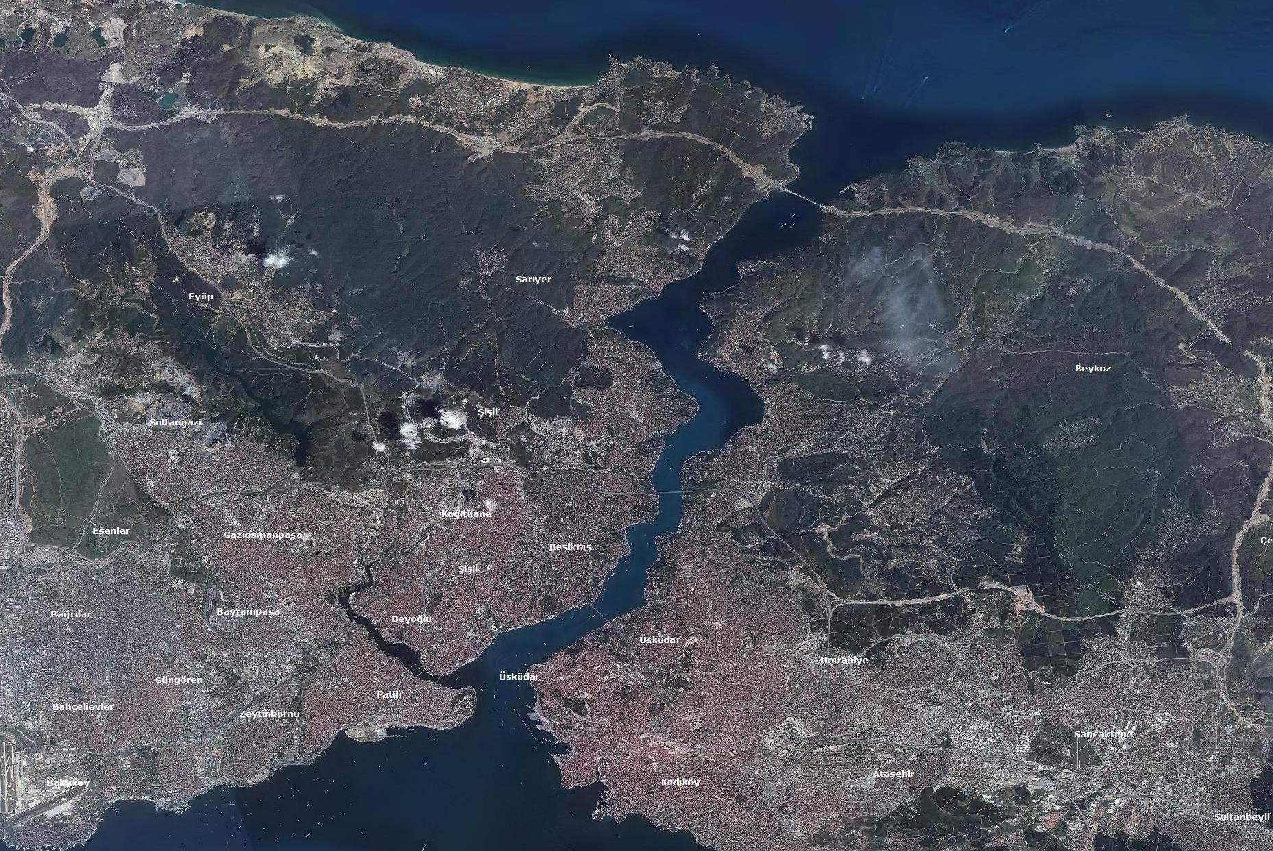 Göktürk-2 İstanbul 2014-2016