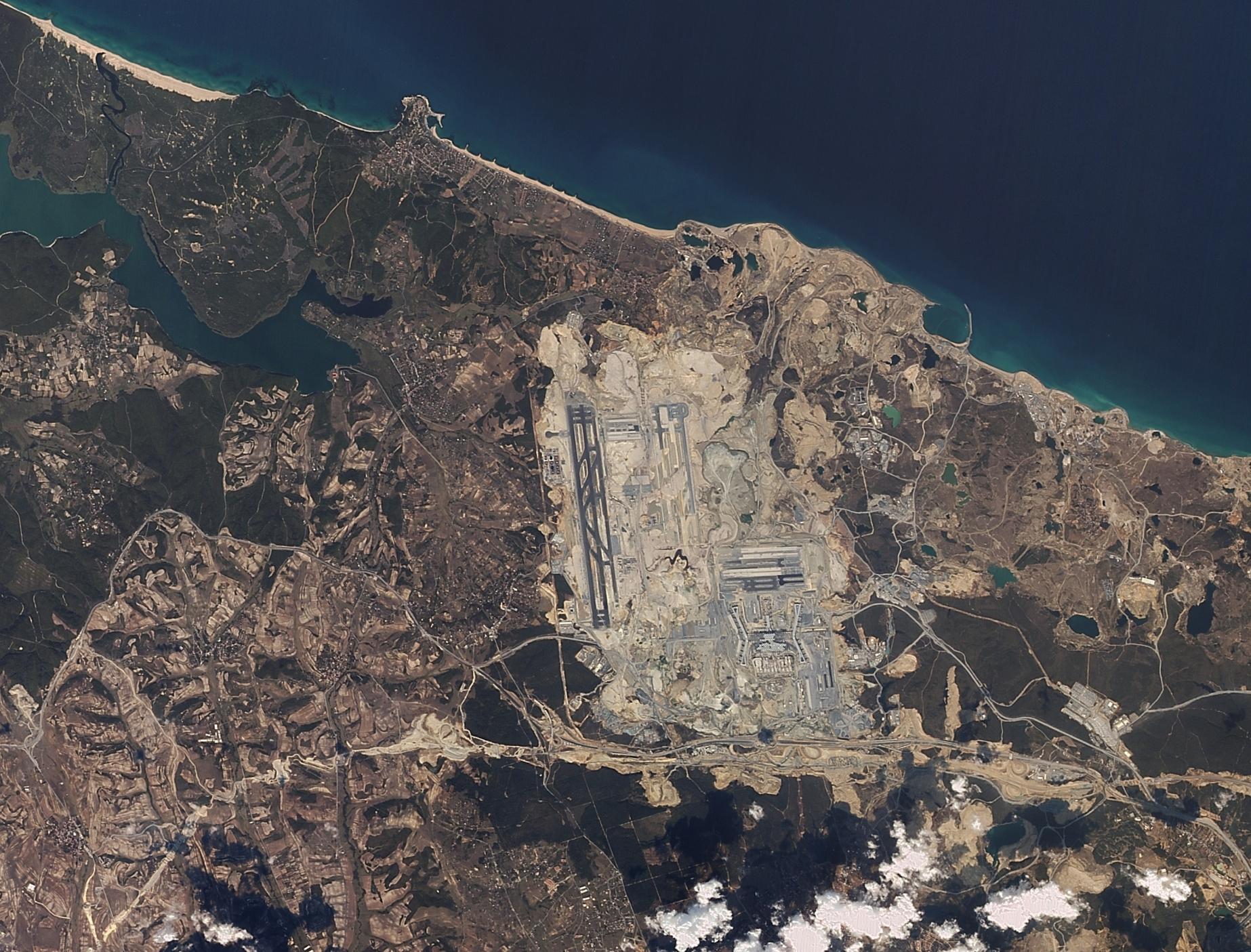 İstanbul Yeni Havalimanı 24 Eylül 2017