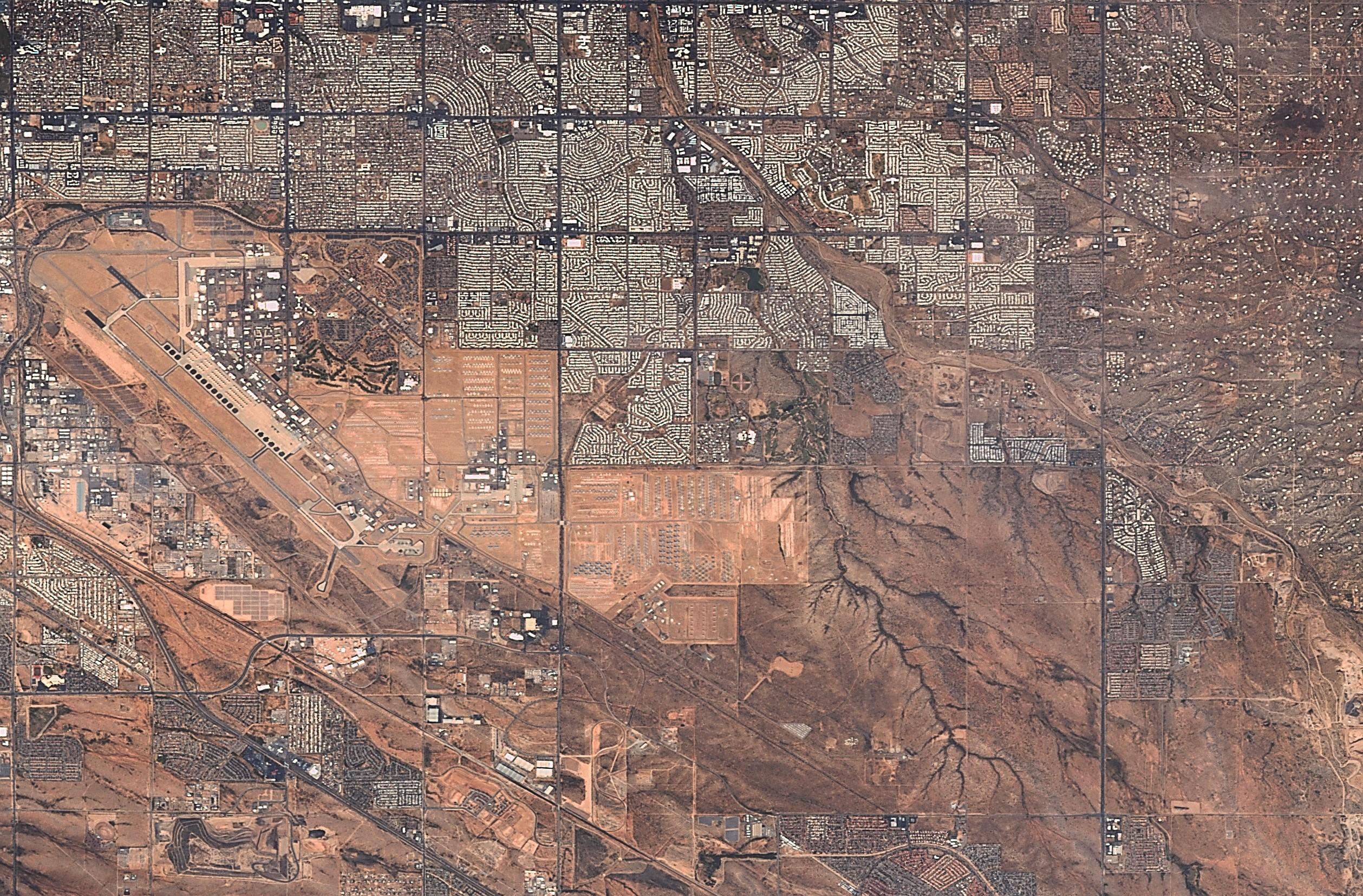Tucson Uçak Mezarlığı Arizona 15 Ekim 2017